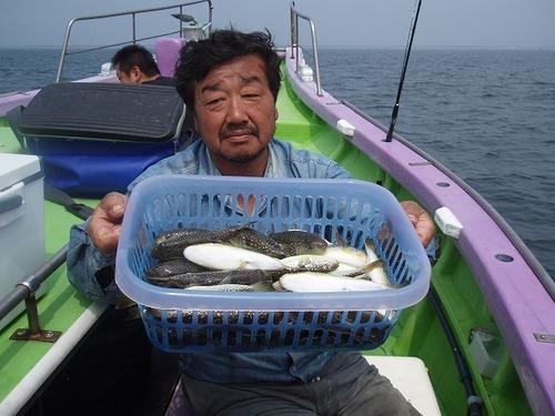2008.9.14   2番手・44匹・渡部さん!