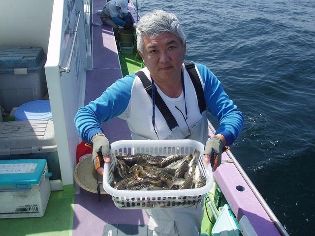 2009.9.14(月) 竿頭・60匹・加藤さん!
