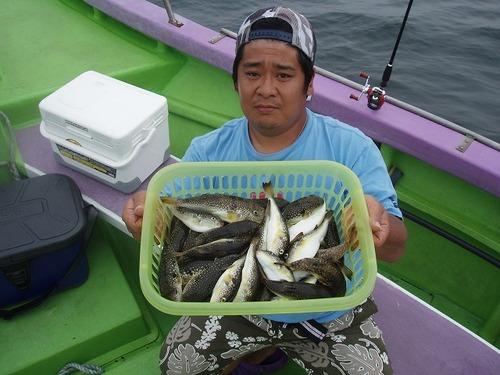 2008.9.15   2番手・48匹・平山さん!