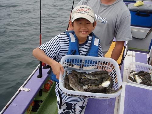2008.9.15   25匹釣り大健闘の北山正大さん!