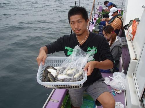 2008.9.15   竿頭・50匹・北野さん!
