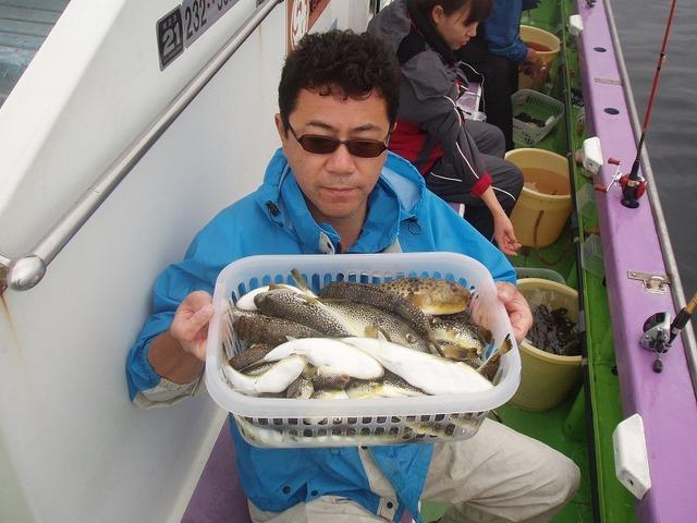 2009.9.15(火) 2番手・74匹・菊池さん!