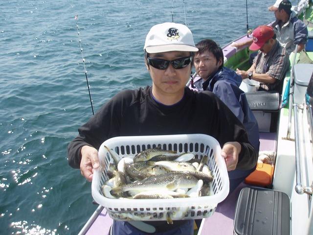 2009.9.16(水) 竿頭・61匹・向さん!