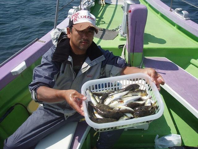 2009.9.16(水) 初挑戦で60匹・津郷さん!