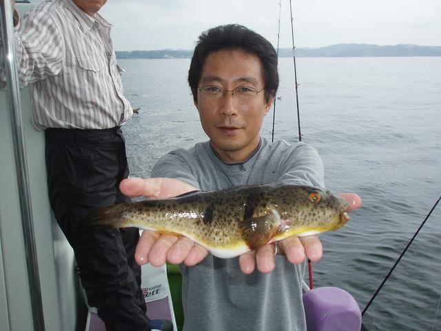 2009.9.21(月) 初挑戦で25匹・本吉さん!