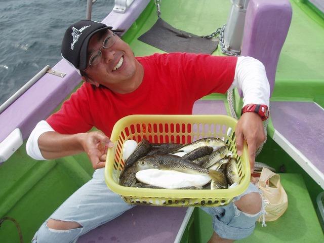 2009.9.22(火) 竿頭・41匹・山本さん!
