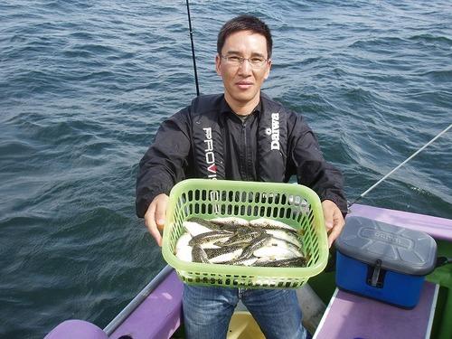 2008.9.23(火)  竿頭・34匹・岩上さん!