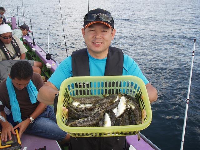 2009.9.23(水) 3番手・37匹・岡部さん!