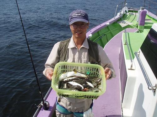 2008.9.24(水)  竿頭・28匹・志茂さん!