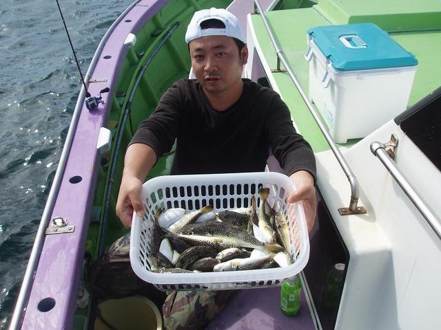 2009.9.25(金) 竿頭・37匹・東さん!