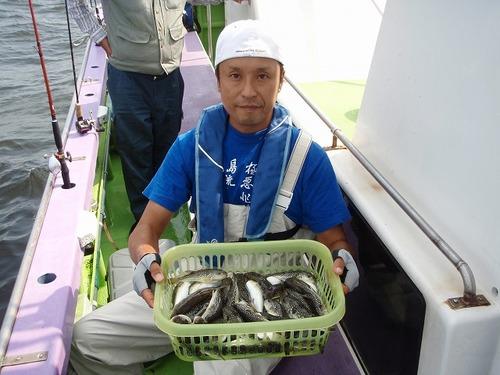 2008.9.25(木)  竿頭・51匹・吉羽さん!