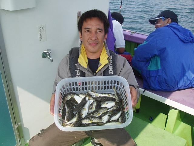 2009.9.27(日) 2番手・60匹・岩上さん!