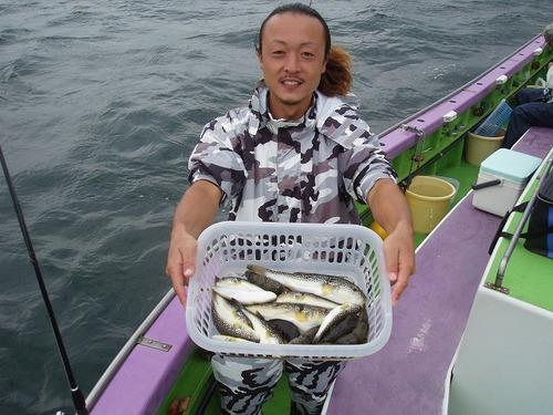 2008.9.28(日) 竿頭・17匹・熊田さん!