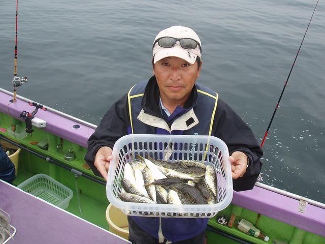 2009.9.29(火) 初挑戦で2番手・26匹・倉橋さん!