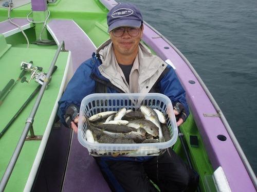 2008.10.1(水) 2番手・48匹・志茂さん!