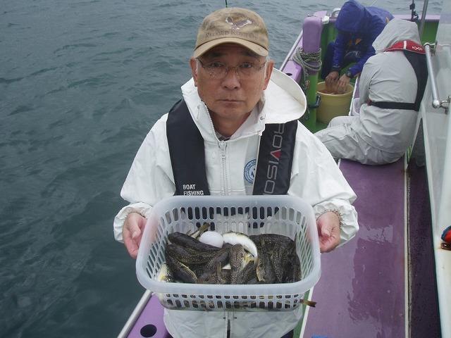 2009.10.2(金) 初挑戦で36匹・山本さん!