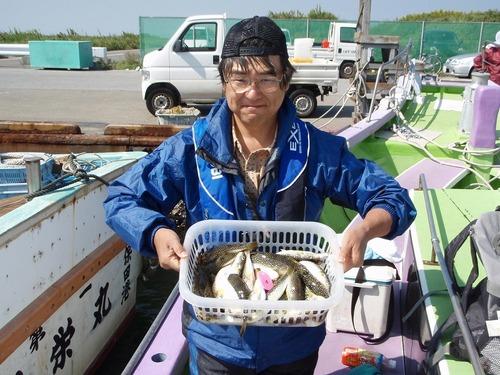 2008.10.2(木) 2番手・40匹・高田さん!