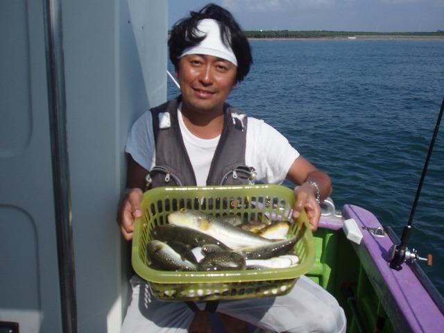 2009.10.4(日) 2番手・37匹・沼倉さん!