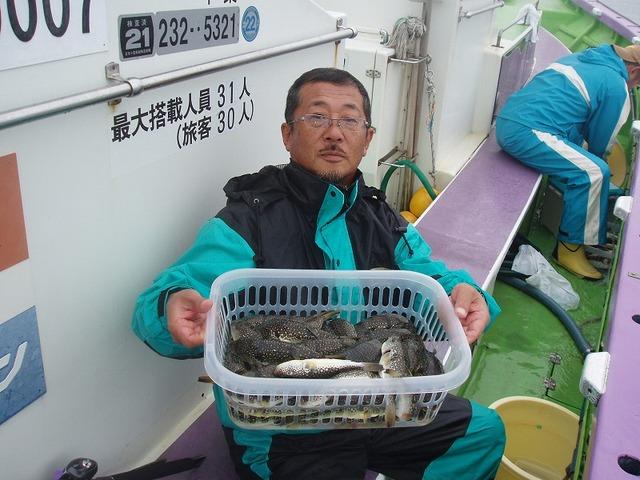 2009.10.5(月) 初挑戦で49匹・原さん!