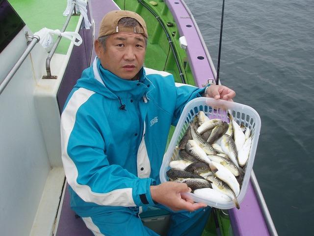 2009.10.5(月) 2番手・67匹・中村さん!