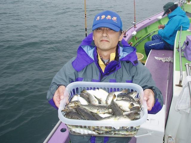 2009.10.5(月) 竿頭・69匹・田辺さん!