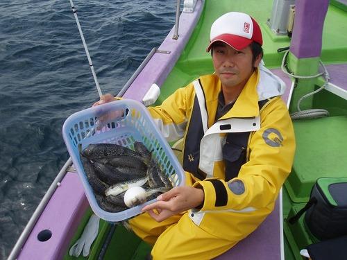 2008.10.9(木) 2番手・初挑戦で21匹釣った宮内さん!