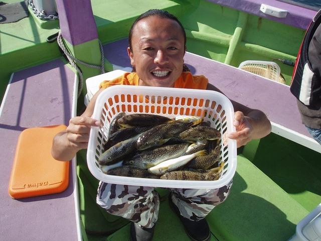 2009.10.12(月) 竿頭・27匹・熊ちゃん!