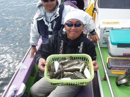 2008.10.12(日) 竿頭・37匹・大類さん!