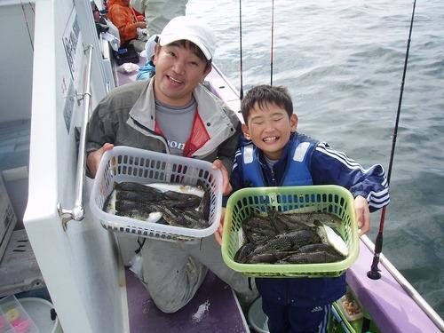 2008.10.12(日) 北山さん親子・21匹と28匹!