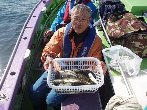 2008.10.13(月) 2番手・18匹・上平さん!