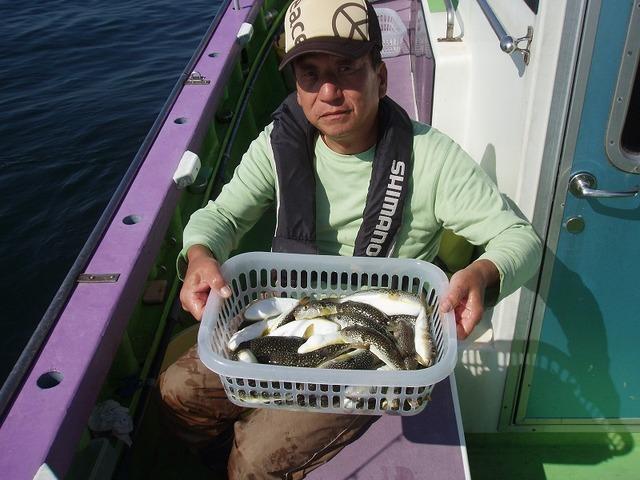 2009.10.13(火) 2番手・初挑戦で38匹・斉藤さん!