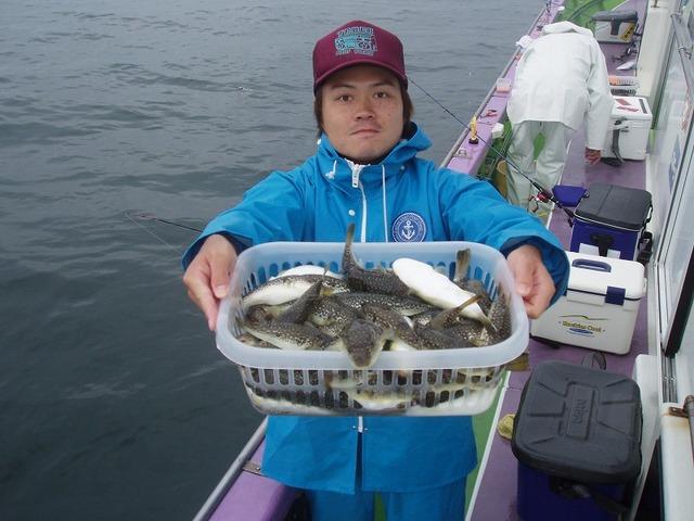 2009.10.14(水) 2番手・初挑戦で80匹・阿部さん!