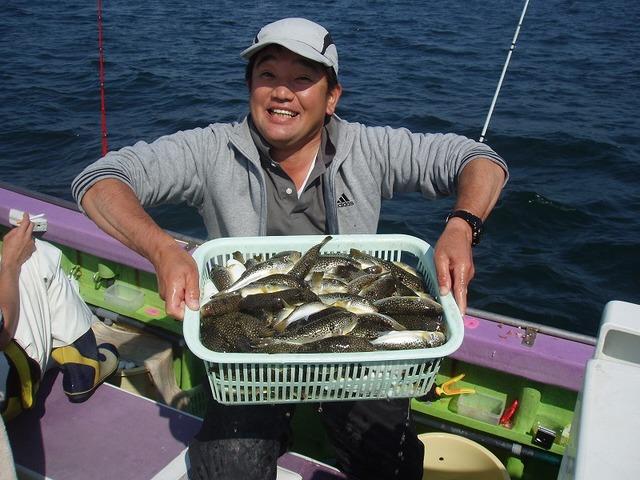 2009.10.15(木) 竿頭・記録的な145匹・北山さん!
