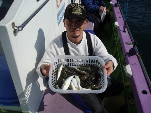 2008.10.16(木) 2番手・36匹・高橋さん!