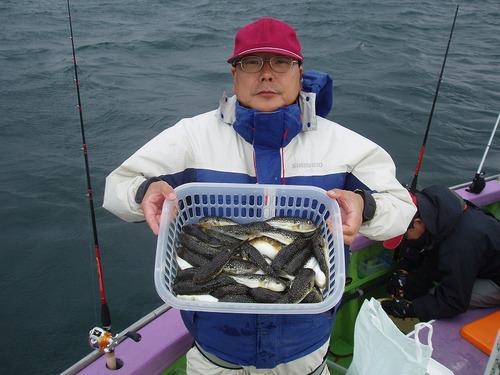 2008.10.18(土) 2番手・45匹・横山さん!
