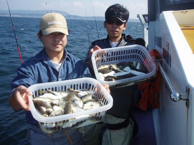 2009.10.18(日) 初挑戦で57匹・石田さん・50匹・佐々木さん!