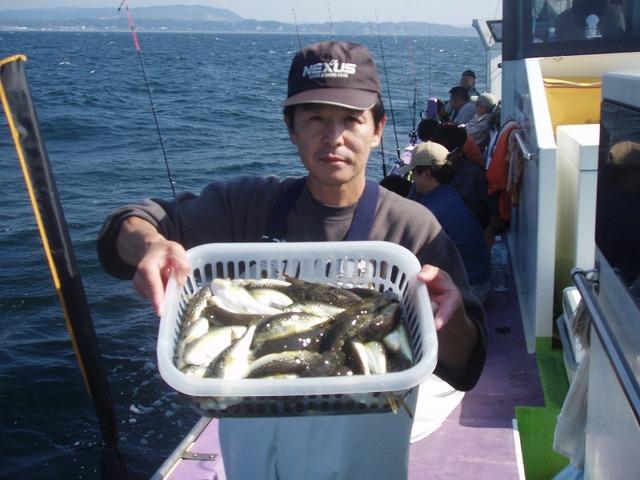 2009.10.18(日) 2回目の挑戦で73匹・桑原さん!