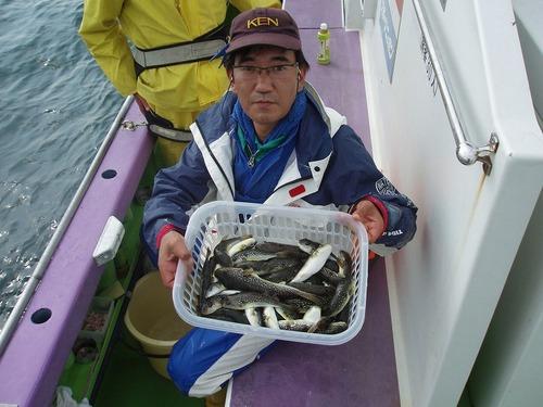 2008.10.20(月) 竿頭・初挑戦で48匹・濱田さん!