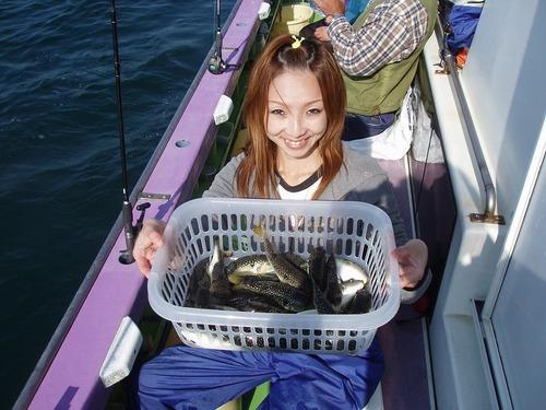 2008.10.21(火) 竿頭・27匹・石田有可子さん!
