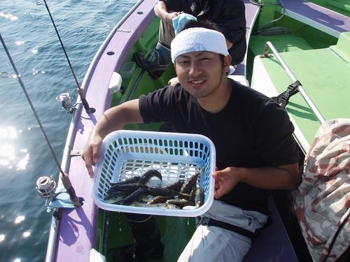 2008.10.21(火) 初挑戦で21匹・渡辺さん!