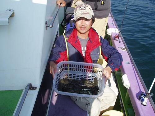 2008.10.21(火) 初挑戦で22匹・庄司さん!