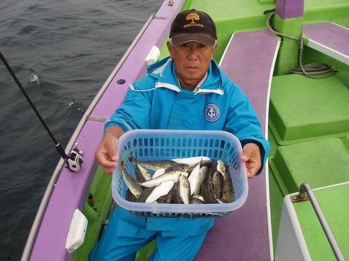 2008.10.23(木) 2番手・37匹・本村さん!