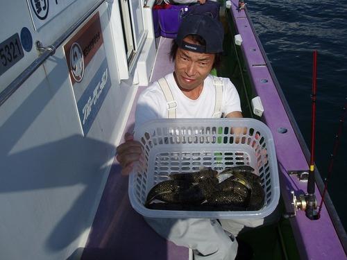 2008.10.27(月) 竿頭・13匹・上野さん!