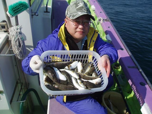 2009.10.28(水) 初挑戦で50匹・土井さん!