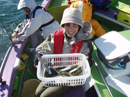 2008.11.1(土) 2番手・17匹・鈴木喜美子さん!