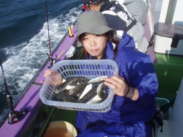 2009.11.1(日) 初挑戦で27匹・江部智子さん!
