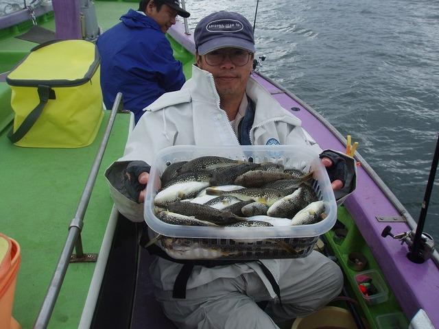 2009.11.2(月) ズッシリの86匹・志茂さん!