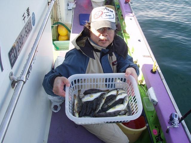 2009.11.4(水) 初挑戦で23匹・笹嶋さん!