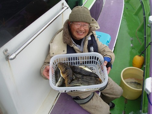 2008.11.5(水) 2番手・15匹・藤井さん!
