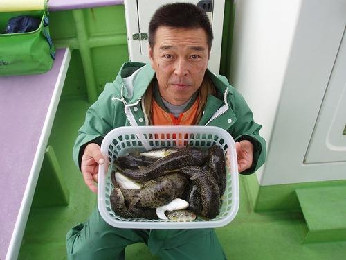2008.11.5(水) 竿頭・21匹・浜尾さん!